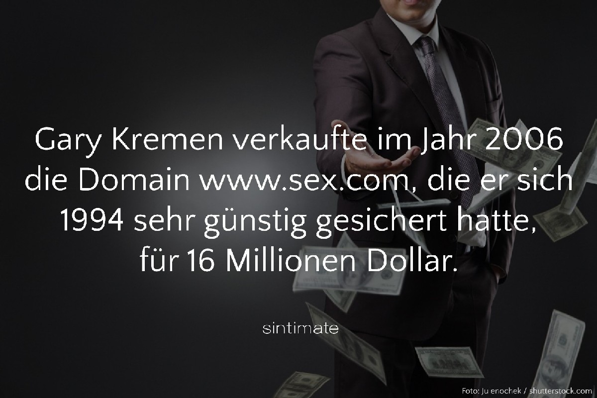 Domain Sex, Sex Fakten, Internetadresse Sex