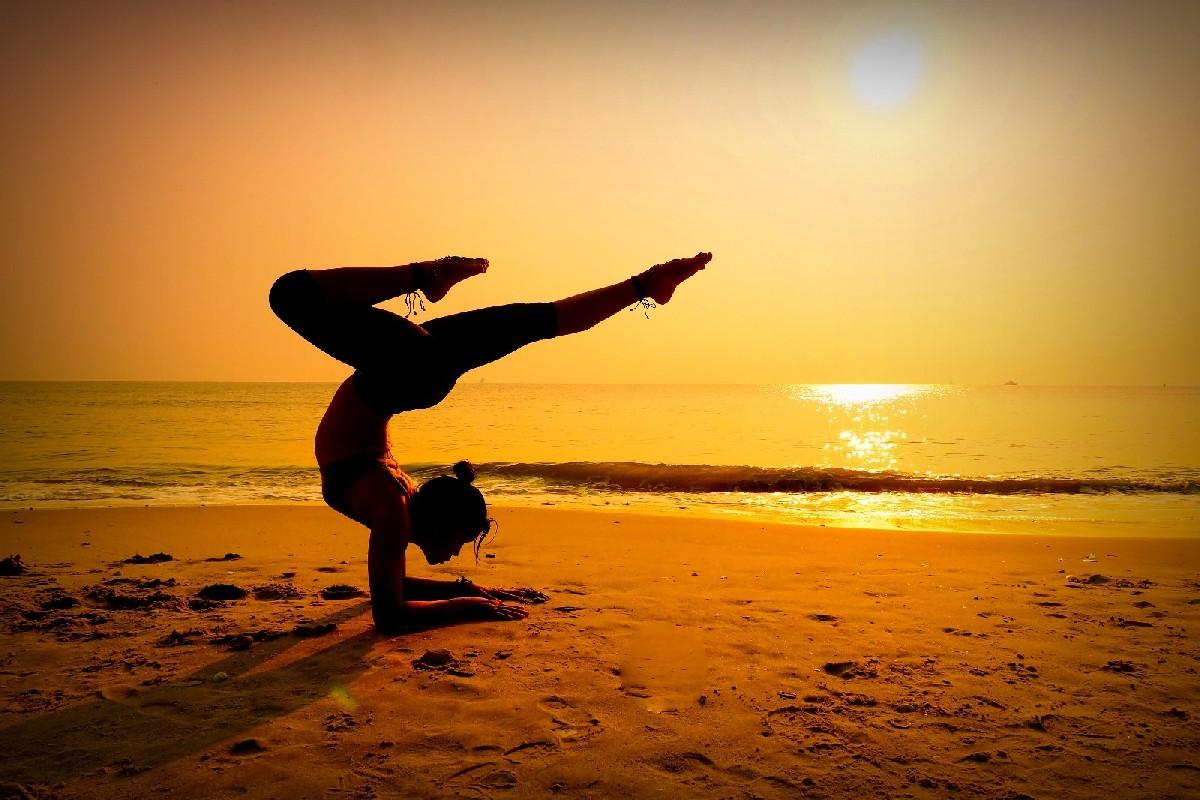 Yoga, sexy Yoga, Sport sexy, Frau sexy