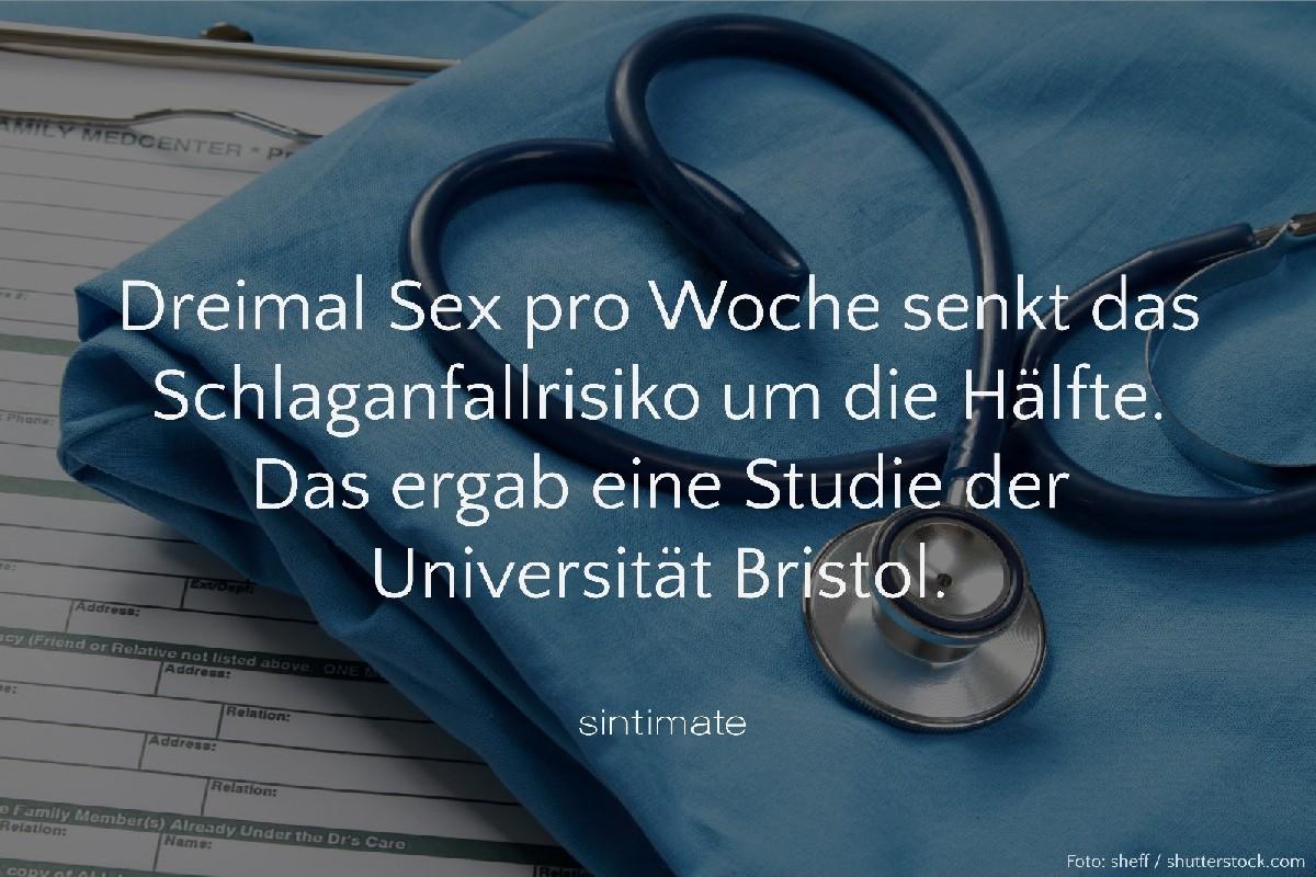 Risiko Schlaganfall Sex, Sex Fakten, Sex gesund, Sex Gesundheit
