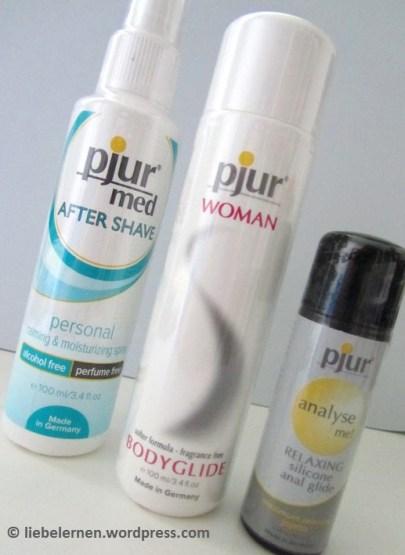Gewinnspiel, Gewinnspiel pjur, Gleitgel pjur, pjur Woman Bodyglide, pjur After Shave, pjur Erfahrung