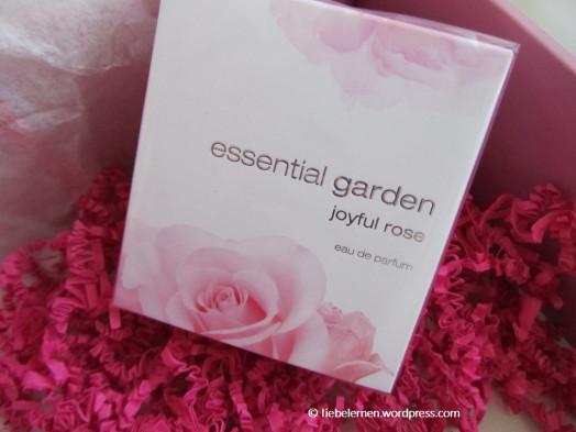 Müller Look Box, Schön für mich Box, DM Lieblinge, Beauty Box, Rossmann Box, essential garden Parfüm