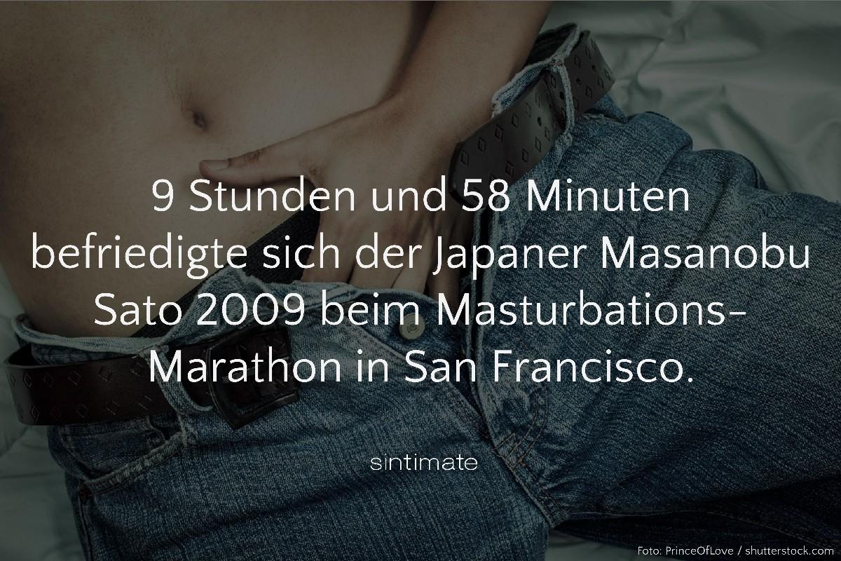 Weltrekord Selbstbefriedigung, längste Selbstbefriedigung, Masturbation Marathon, Sex Fakten