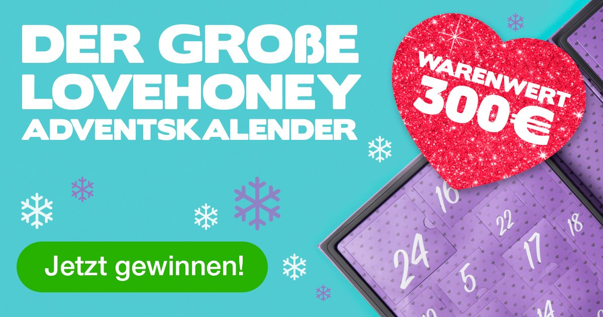 Lovehoney Adventskalender, Lovehoney Gewinnspiel, Lovehoney Blog, Lovehoney Rückgabe, Lovehoney Gutschein, Lovehoney Rabatt