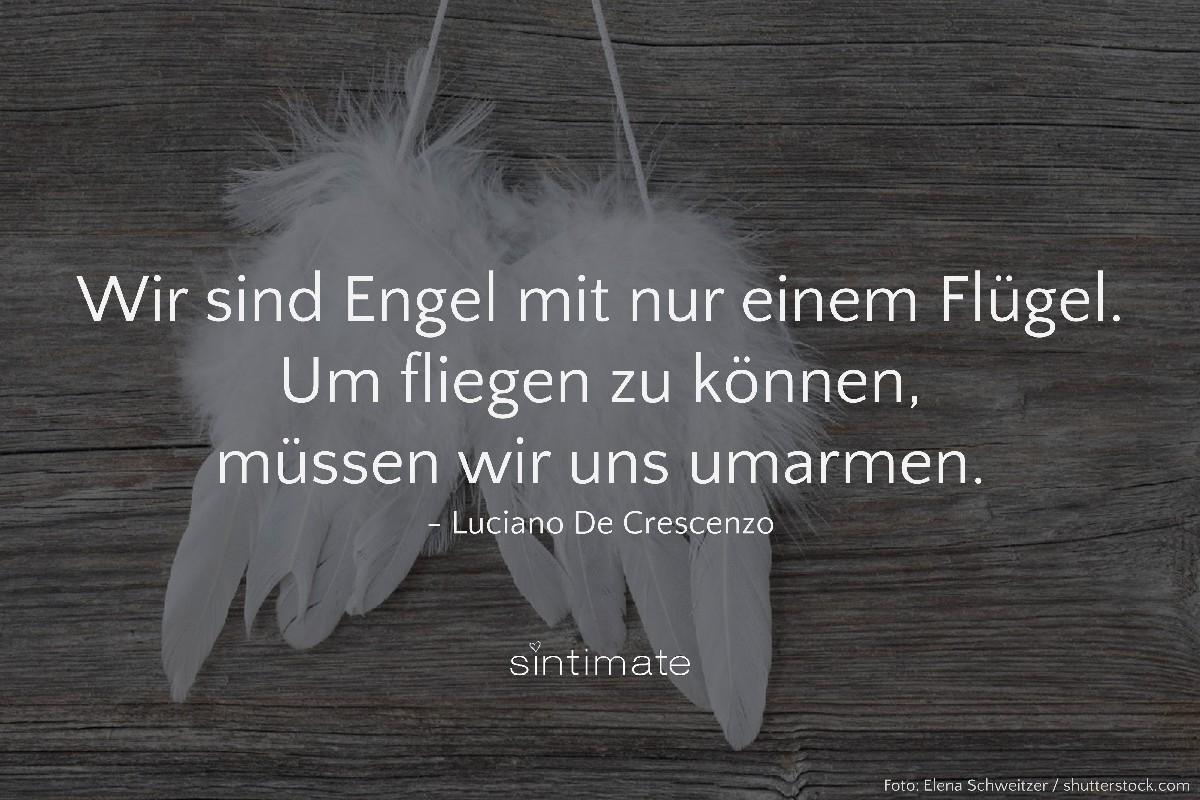 de Crescenzo Zitat, de Crescenzo Engel, Zitat Liebe, Spruch Liebe, Spruch Engel
