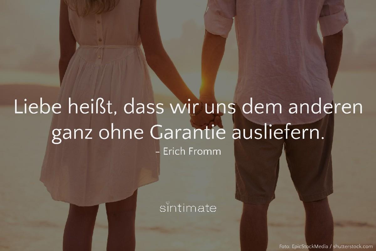 Fromm Zitat, Fromm Spruch, Fromm Liebe, Liebe Garantie